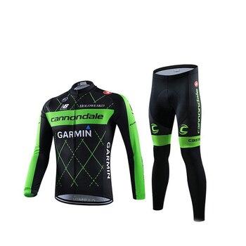 Mens Ciclismo Conjuntos de mangas Compridas Protetor Solar Ciclismo Roupas Sportswear Ao Ar Livre MTB Bicicleta Roupas de Ciclismo Terno