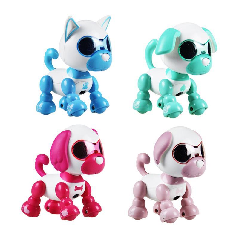 4 función perro Robot de juguete inteligente Robot mascota niños interactivo compañero interesante electrónica perro mascota juguetes para los niños