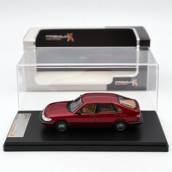 Premium X 1:43 SAAB 900 V6 1994 Bordeaux PRD452 Diecast Models Car Limited Edition Collection Toys Car