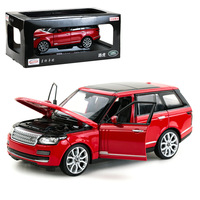 1/24 Range Rover exquisite car model colleciton die cast vehicle gifts YF605