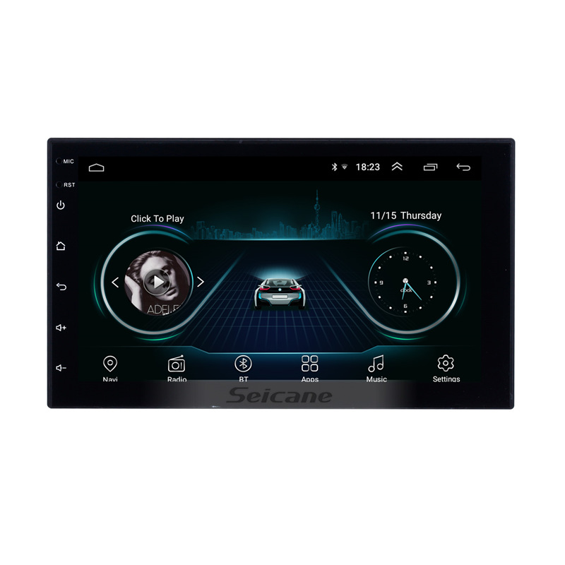 Seicane Android 8.1 7 2Din Car Radio Wifi Bluetooth Quad Core Multimedia Player For TOYOTA Nissan Kia RAV4 FJ CRUISER ALPHARD