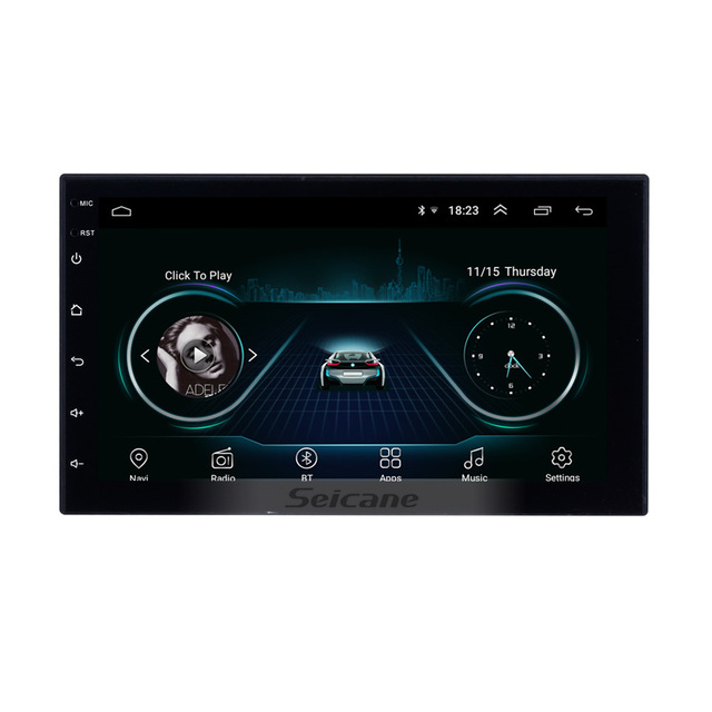 "Seicane Android 8.1 7"" 2Din Car Radio Wifi Bluetooth Quad Core Multimedia Player For TOYOTA Nissan Kia RAV4 FJ CRUISER ALPHARD"