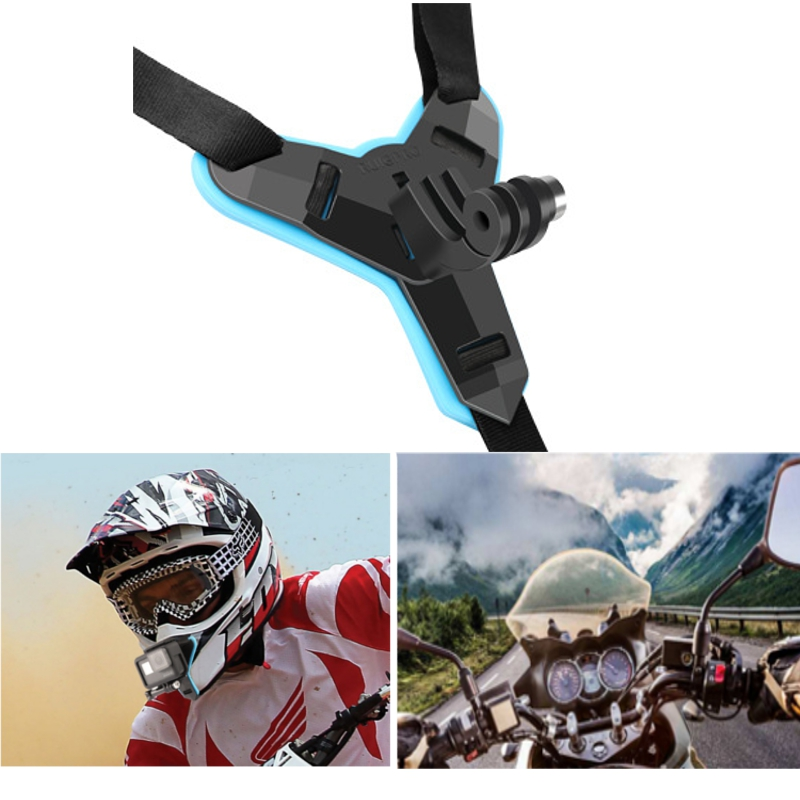 Helmet Chin Camera Mount Expansion Bracket Accessories Sports Camera Holder For Go Pro 7 6 5