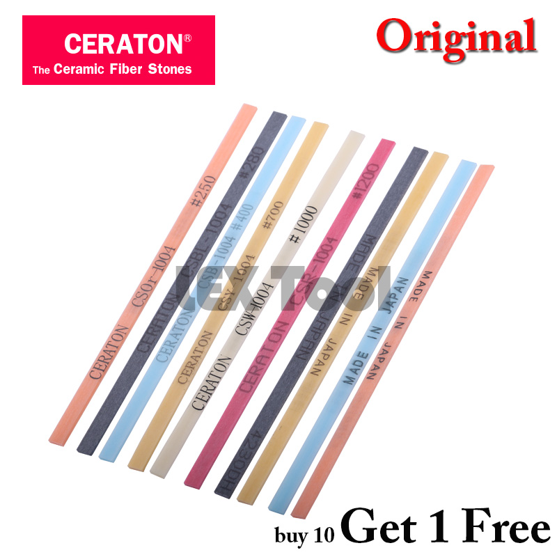 Ceraton Original 1004 Ceramic Whetstone Ceramic Fiber Stone Made In Japan  Super Stone Lapping Tool 1 Pcs