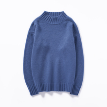 2019 new Male Japanese Round Neck Leisure Time men sweaters pullover turtleneck Free shipping
