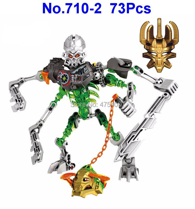 Design; Charitable 710-2 73pcs Bionicle Mask Of Light Load Of Skull Slicer Compatible 70792 Building Block Toy Novel In