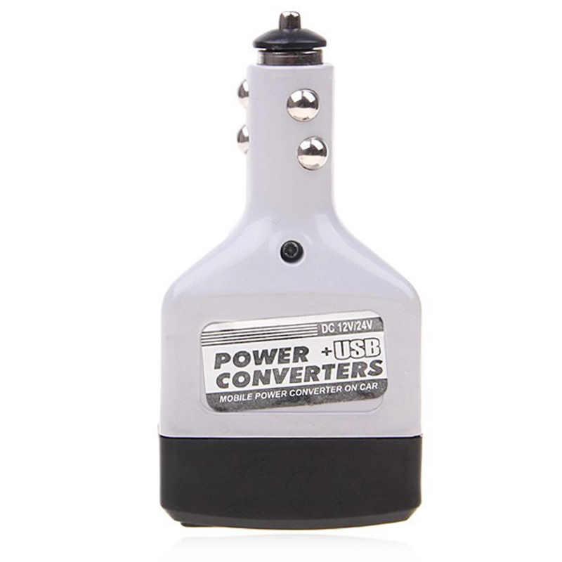 Car Vehicle Inverter Car Power Converter 12/24V DC To 220V AC USB Charger Cigarette Lighter Car Accseeories