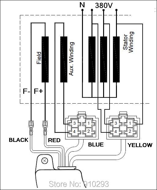 us $13 14 27% off 5kw 6 5kw 8kw three 3 phase gasoline generator avr universal automatic voltage regulator stabilizer for alternator 400v 470uf in baldor single phase motor wiring diagrams single phase generator wiring diagram #12