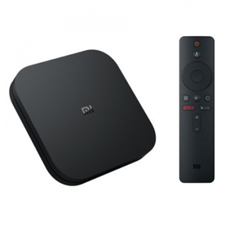Xiaomi Mi Box S Smart TV Box Android 8 1 2GB 8GB 4K HDR With Google  Assistant Remote International Version Voice Remote Control