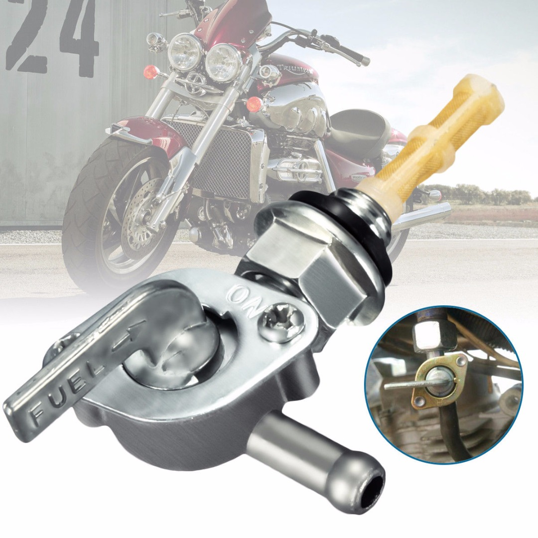 Image 2 - 10mm Fuel Petrol Tank Tap Petcock Switch Generator Pit Dirt Bike ATV Quad-in Fuel Tank from Automobiles & Motorcycles