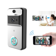 M5 Wireless WiFi Security Eye Door Bell Visual Recording Remote Home Monitor Night Vision Video Intercom Phone Call Doorbell