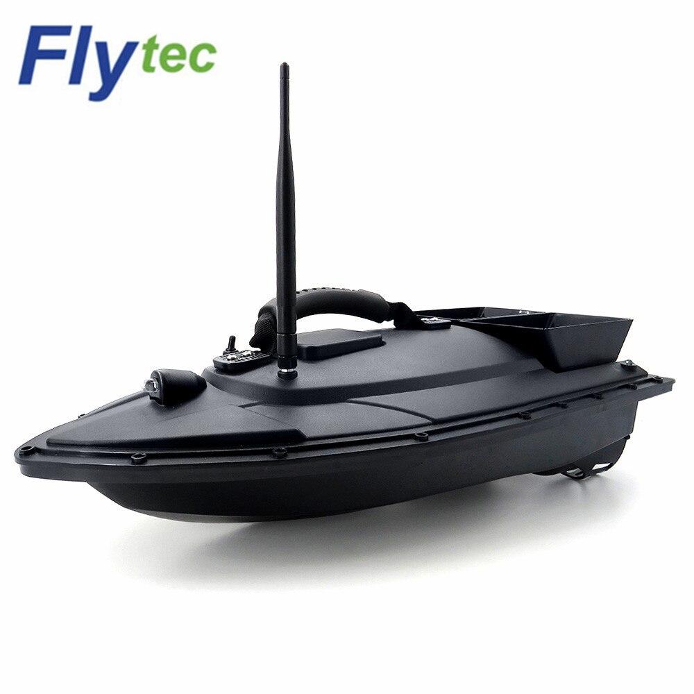 Flytec 2011-5 2011-15A outil de pêche RC appât bateau jouets double moteur poisson Finder bateau de pêche bateau hors-bord jouet noël enfants cadeaux