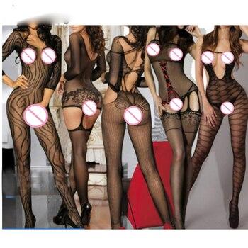 Lencería sexi de talla grande Para mujer, disfraces sexis, lencería erótica sexi Para mujer, lencería sin entrepierna, lencería Femenina, ropa interior caliente Qq323