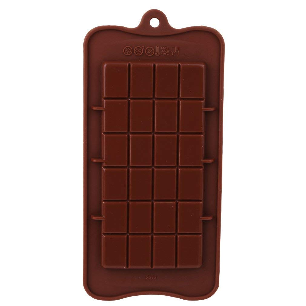 Chocolate Square Mold Mooncake Fondant Chocolate Molds Protein and Energy Bar Molds Candy Molds Baking Mould Soap Decorating image