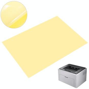 50 sztuk zestaw papier do druku A4 jasne folia przezroczysta naklejka samoprzylepna papier do laserowego drukarka atramentowa laserowe A4 etykieta druku tanie i dobre opinie A4 Clear Transparent Film Papier do kopiowania