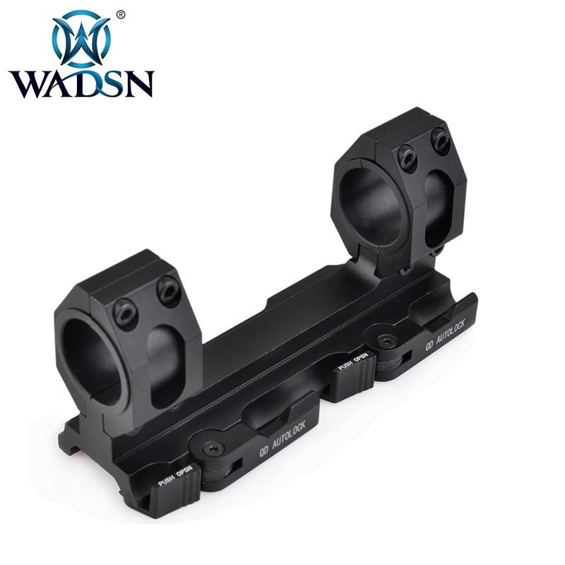 Vis-o Airsoft tactique chasse fusil Softair portée mont QD verrouillage automatique 25.4mm-30mm anneau de montage AO9012