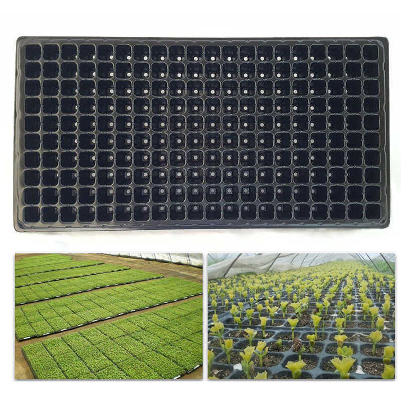 JX-LCLYL 200 Cell Seedling Starter Tray Extra Strength Seed Germination Plant Propagation