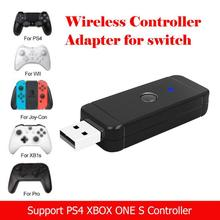 2.4GHZ USB Wireless Bluetooth Gamepad Adapter Receiver For Windows Mac For Nintend Switch For PS3/ PS4/Xbox one Controller New 8bitdo ps3 usb wireless bluetooth adapter gamepad receiver for windows mac nintend switch xbox one controller nintend switch con