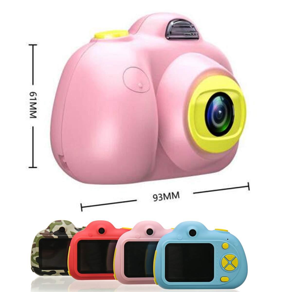 D6 2 ''HD numérique Micro enfants caméra Mini enfants caméra 800 W 120 ° grand Angle reconnaissance du visage Photo vidéo jouet caméra - 5