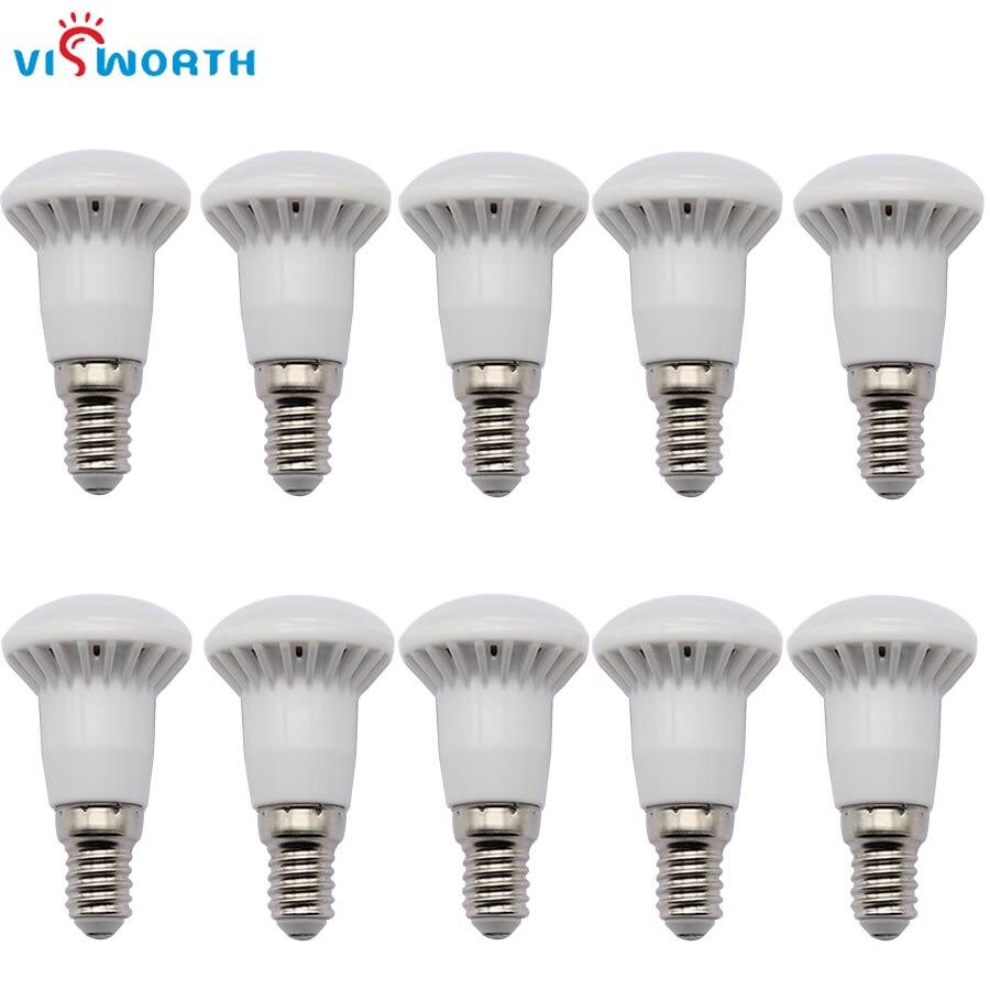 R39 Light Bulb E14 Led Candle Lighting 3W AC 110V 220V Lampada SMD2835 Cold White Warm White LED Spotlight For Table Lamp Light