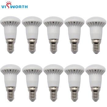 цена на R39 Light Bulb E14 Led Candle Lighting 3W AC 110V 220V Lampada SMD2835 Cold White Warm White LED Spotlight For Table Lamp Light