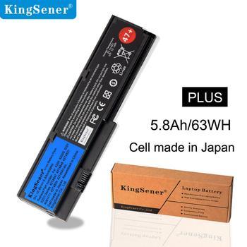 KingSener 5800mAH Laptop battery For Lenovo IBM ThinkPad X200 X200S X201 X201I Series 42T4834 42T4535 42T4543 42T4650 42T4534 laptop battery for ibm lenovo thinkpad x60 1706 2509 thinkpad x60s 1702 2522 thinkpad x61 7676 thinkpad x61s 7669 series 22 22
