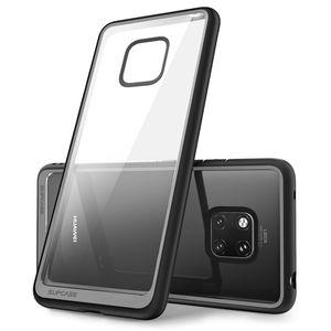 Image 3 - Pour Huawei Mate 20 Pro etui LYA L29 2018 SUPCASE Style UB anti coups Premium hybride pochette de protection en polyuréthane thermoplastique + coque arrière transparente