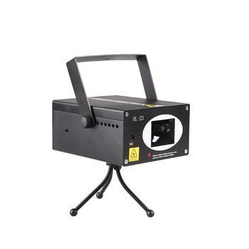 Mini Pattern Projector Flash Laser Stage Light DJ Disco KTV Party Lamp