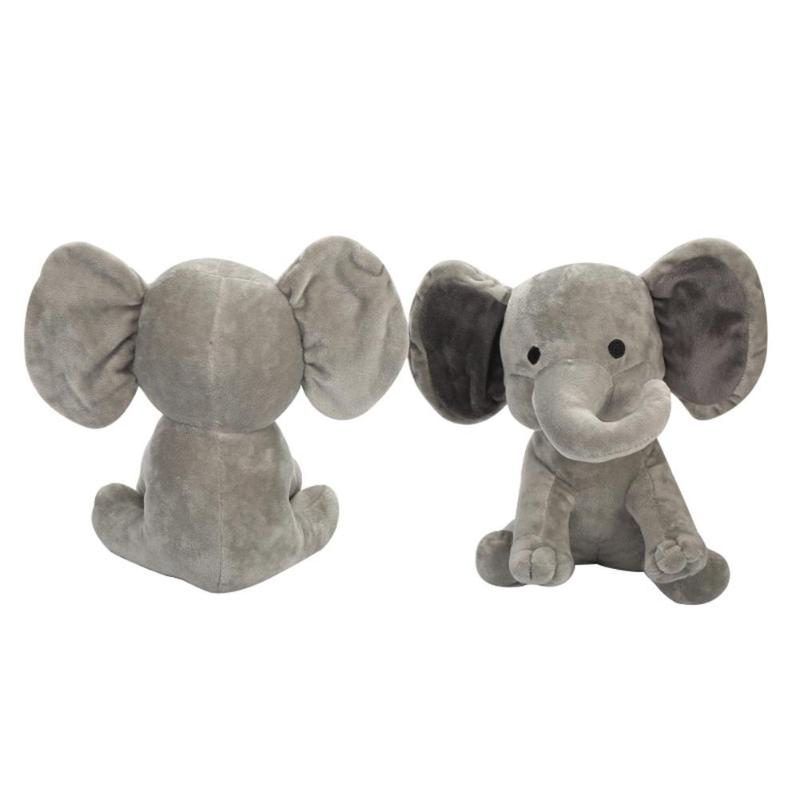 1PC 23cm Cute Soft Appease Elephant Plush Toys Kids Baby Sleeping Animal Pillow Plush Toys For Children Stuffed Doll Gifts