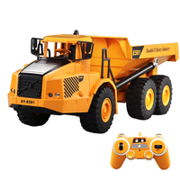 2.4G RC Articulated Dump Truck Electronic Engineering Vehicle Construction RC Truck Remote Control Toys Children Boys Birthday