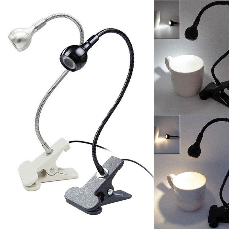 Usb Powered 1 Watt 95lm Led Tisch Lampe Led Nacht Licht Mit Clip Bett Lesen Buch Licht Laptop Internet Beleuchtung Beste Geschenk Für Kind