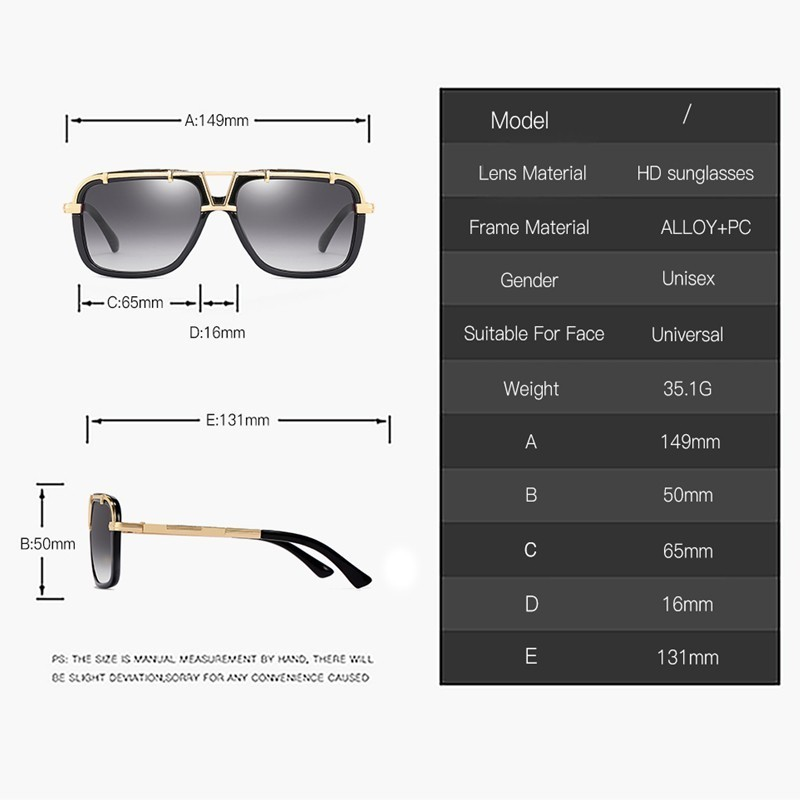 Square Sunglasses For Women 2019 Fashion Vintage Outdoor Sport Driving Retro Frame High Quality Sun Glasses