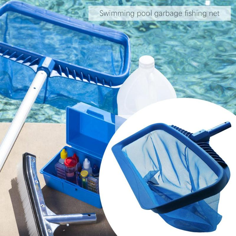 Swimming Pools Skimmer Net Rubbish Cleaning Rake Leaf Mesh Deep Bag Net  Mesh Deep Bag Net Salvage Swimming Pool & Accessories