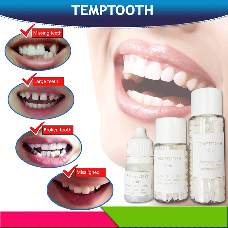 3/10/20g Denture Solid Glue Denture Adhesive Dental