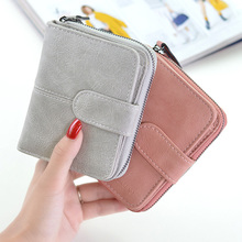 Women's Small Wallet For Credit Card Female Coin Purse Leather