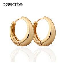 Женские маленькие серьги кольца Золотые женские e0204