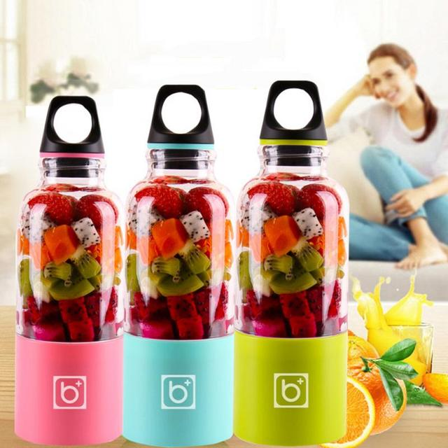 Garrafa Copo Juicer Multifuncional Liquidificador Elétrico portátil USB Recarregável Uso Da Cozinha Espremedores de Frutas Extrator De Suco De Laranja