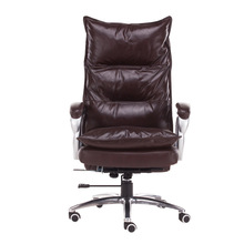 Luxurious and comfortable type lifting and rotating office chair home computer chair can lie massage chair furniture article luxurious and comfortable office chair at the boss computer chair flat multifunction chair capable of rotating and lifting