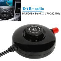 Car DAB Antenna USB Adapter LED Digital Display Car DAB Radio Receiver Tuner for Car Home Audio Radio