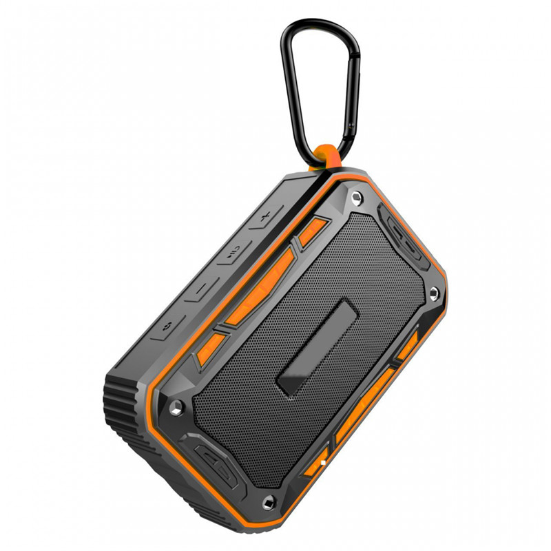 LEORY TWS IP67 Waterproof Bluetooth Speaker 2200mah Mini Subwoofer Smart Speaker For Outdoor Biking Handfree Radio FM