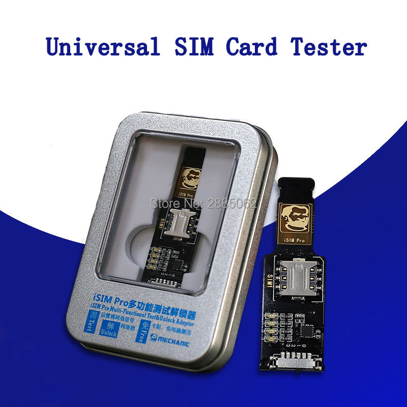 Mechanic Universal SIM Card Tester For Apple Mobile Phone Multifunction Signal Test Tool Network Detection iSIM Pro