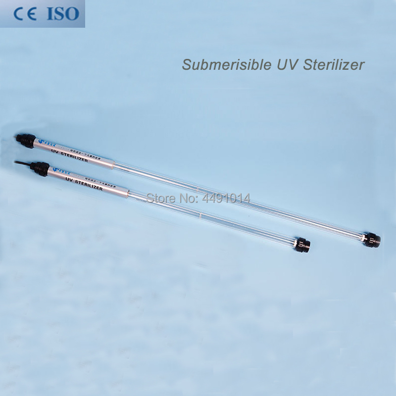 20 W Submersible UV stérilisateur Aquarium lampe UV eau ultraviolette stérilisateur UV Lampara
