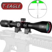 T EAGLE Tactical Long Range Rifles Scope 4 16x44 SFIR Air Rifle Optics Red Dot Illuminated Riflescope Shotgun Shooting