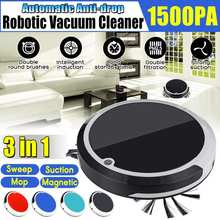 4 in 1 Anti-drop Auto Cleaning Robot Smart Sweeping Robot Dirt Dust Hair Automatic Cleaner For Home Electric Vacuum Cleaners