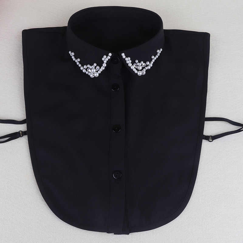 Neue Muster Dickie Hemd Pullover Dekoration Blei Nagel Perle Schmetterling Dickie Frau Abnehmbare Falsche Kragen Abnehmbare Großhandel