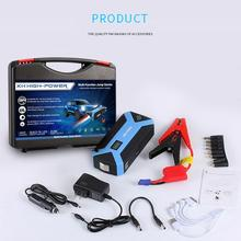 Jump Starter 12V Portable Battery Pack Battery Booster Gas & Diesel 12000mAh  Power Bank and 4 USB Quick Charge Ports Warning Li