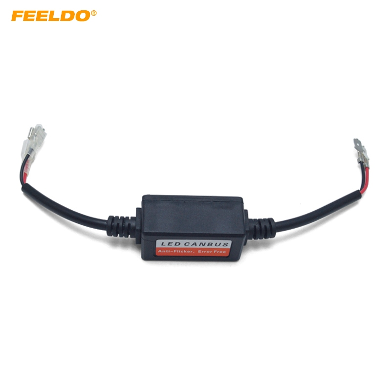 Car Lights Reliable Feeldo Car Led Light Warning Canceller Capacitor Error Free Load Resistor For H1 H3 Led Light Canbus Decoder#5568 Available In Various Designs And Specifications For Your Selection