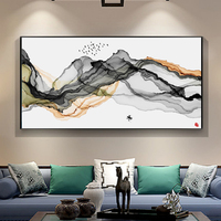 Simple Abstract Oil painting on Canvas Print Wall Art Picture for Living Room Home Decor Chiinese Landscapes Art Paintings