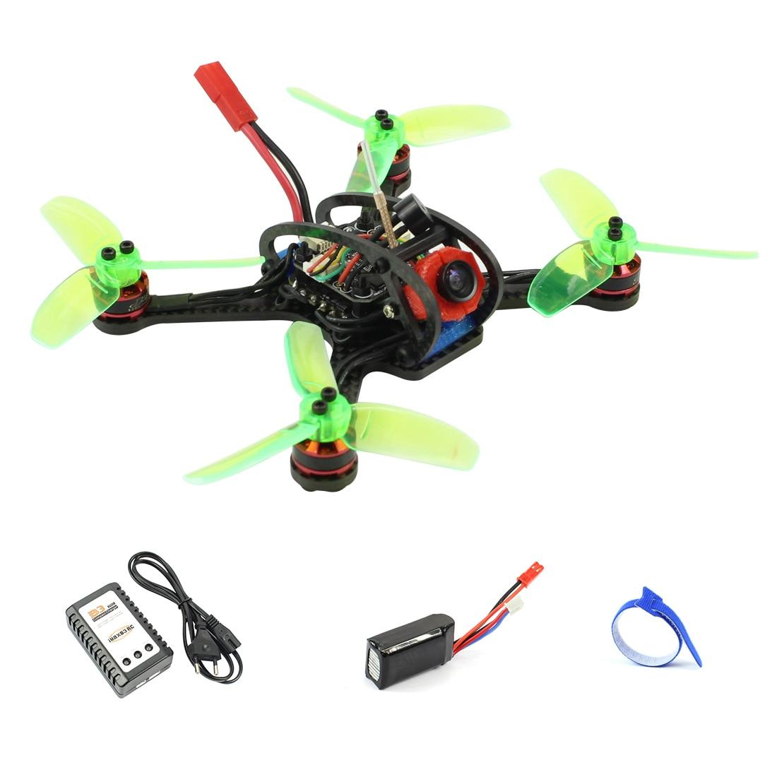 Oyuncaklar ve Hobi Ürünleri'ten RC Helikopterler'de Mini 120mm F3 OSD 2 S RC FPV Yarış Drone Quadcopter 700TVL Kamera VTX Gözlüğü 10A ESC 7500KV Fırçasız 2.4G 6ch BNF RTF Set'da  Grup 3
