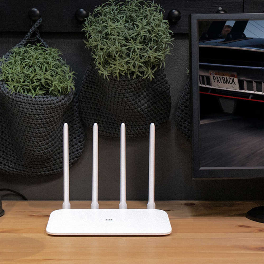 Original Xiao mi mi WiFi Router 4A Dual Band 2.4 GHz 5 GHz AC Gigabit Phiên Bản Không Dây Router 4 Anten hỗ trợ WPA